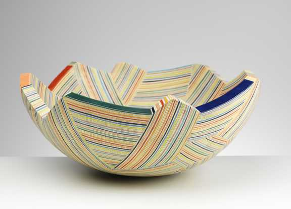 Stripes Large by  Frances Priest - Masterpiece Online