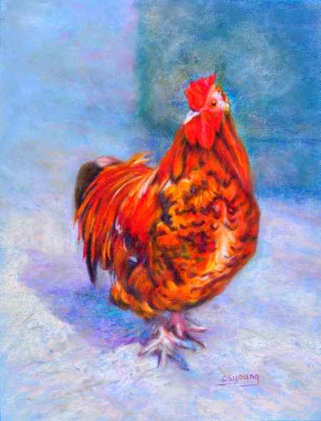 Strutting by  Caroline S. Young - Masterpiece Online