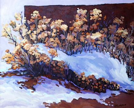 Chamisa Snow by  JA Gorman - Masterpiece Online