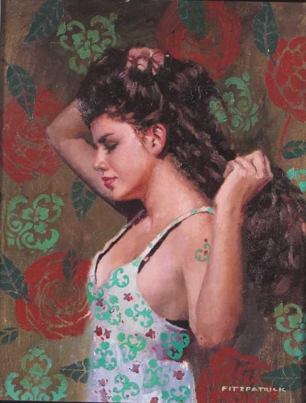 Sabrina by  Michael Fitzpatrick - Masterpiece Online