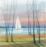 DP-SUNSET SAIL by  P. Buckley Moss  - Masterpiece Online