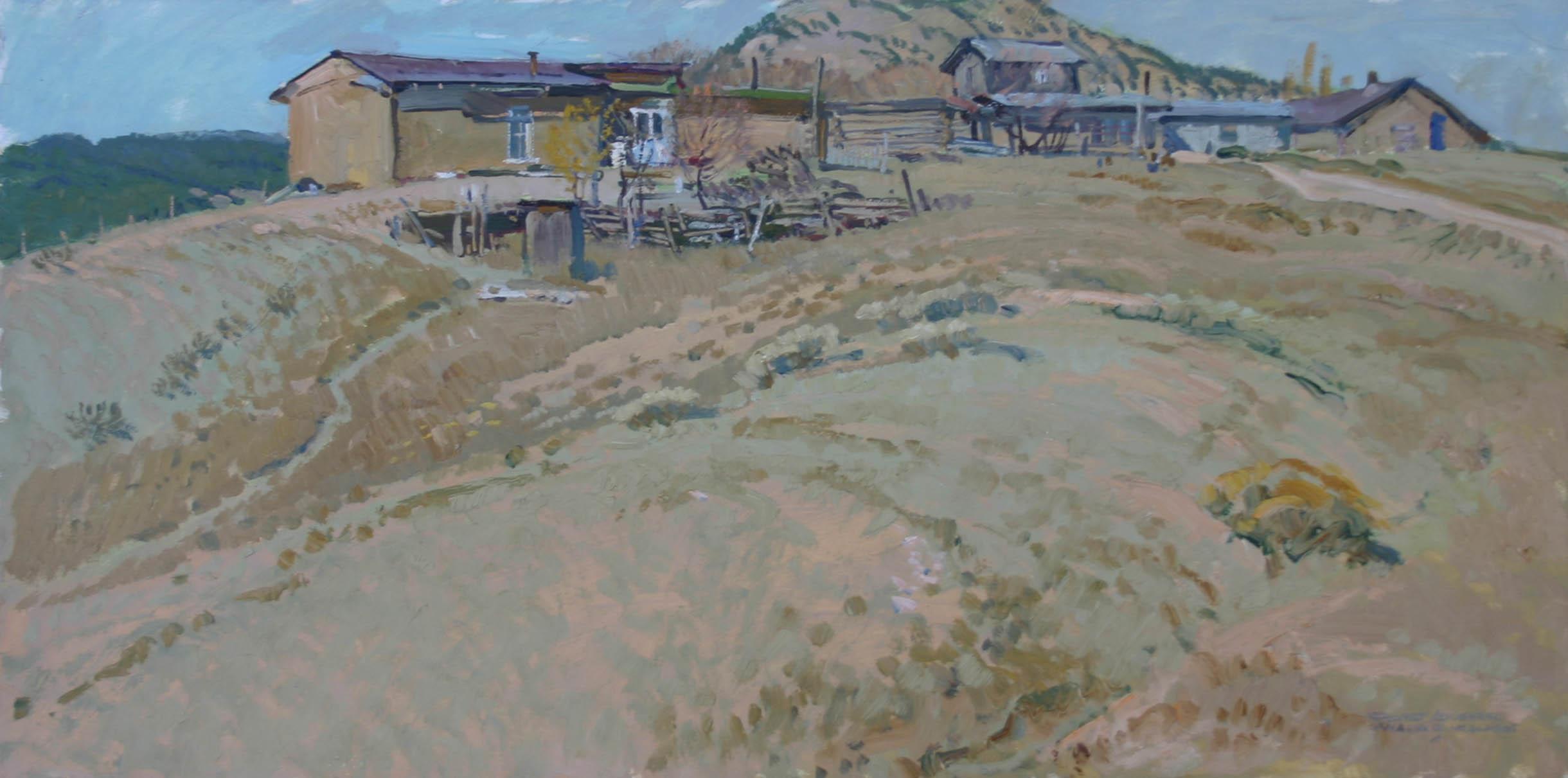 Village of Canada de ... by  Robert Lougheed - Masterpiece Online