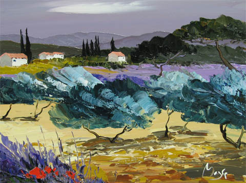 Approaching Storm by  Louis  Magre - Masterpiece Online