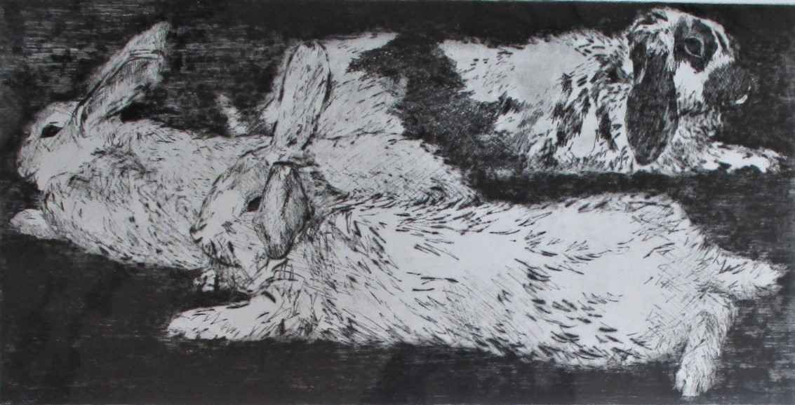 Twilight Bunnies by  Jani Hoberg - Masterpiece Online
