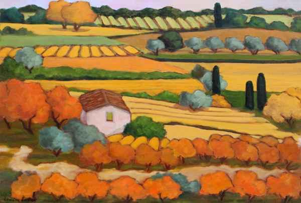 Le Petit Mazet by  Lorraine  Jordan - Masterpiece Online