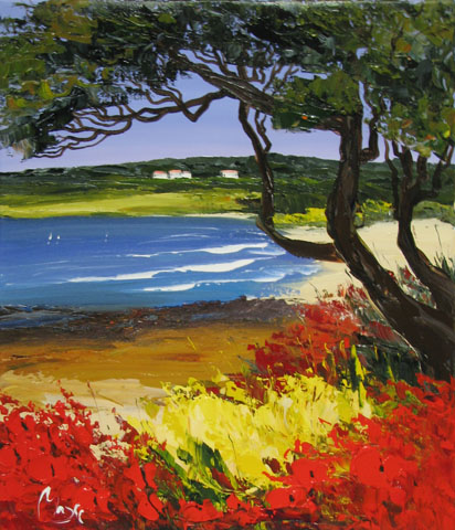 Carmel Impressions by  Louis  Magre - Masterpiece Online