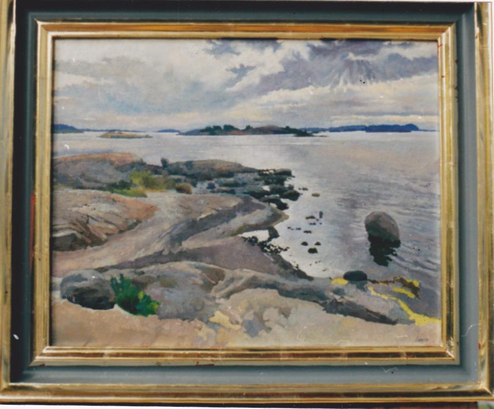 Norwegian Coast by  Daud Akhriev - Masterpiece Online