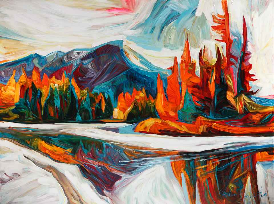 Fire and Ice by  Julia Veenstra - Masterpiece Online