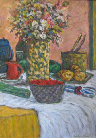 Still Life II by  Andres  Morillo - Masterpiece Online