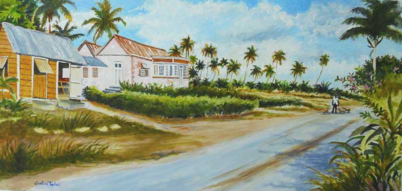 Country Lane by Mrs. Christine Taylor - Masterpiece Online
