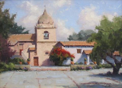 Mission Spring Morning by  Sally  Jordan - Masterpiece Online