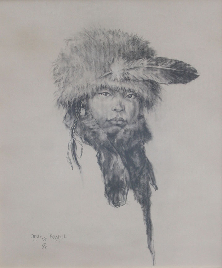 Winter Eagle Child by Mr. Dave Powell - Masterpiece Online