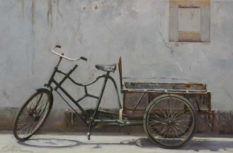 Chinese Bike by Mr Mitch Caster - Masterpiece Online
