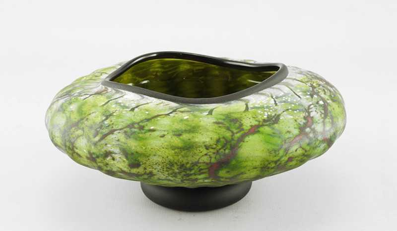 Primitive Bowl/Green by  Danielle Blade/Stephen Gartner - Masterpiece Online