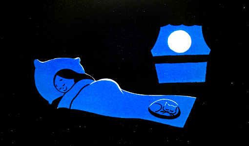 I Go To Sleep by  Kelly Asbury - Masterpiece Online