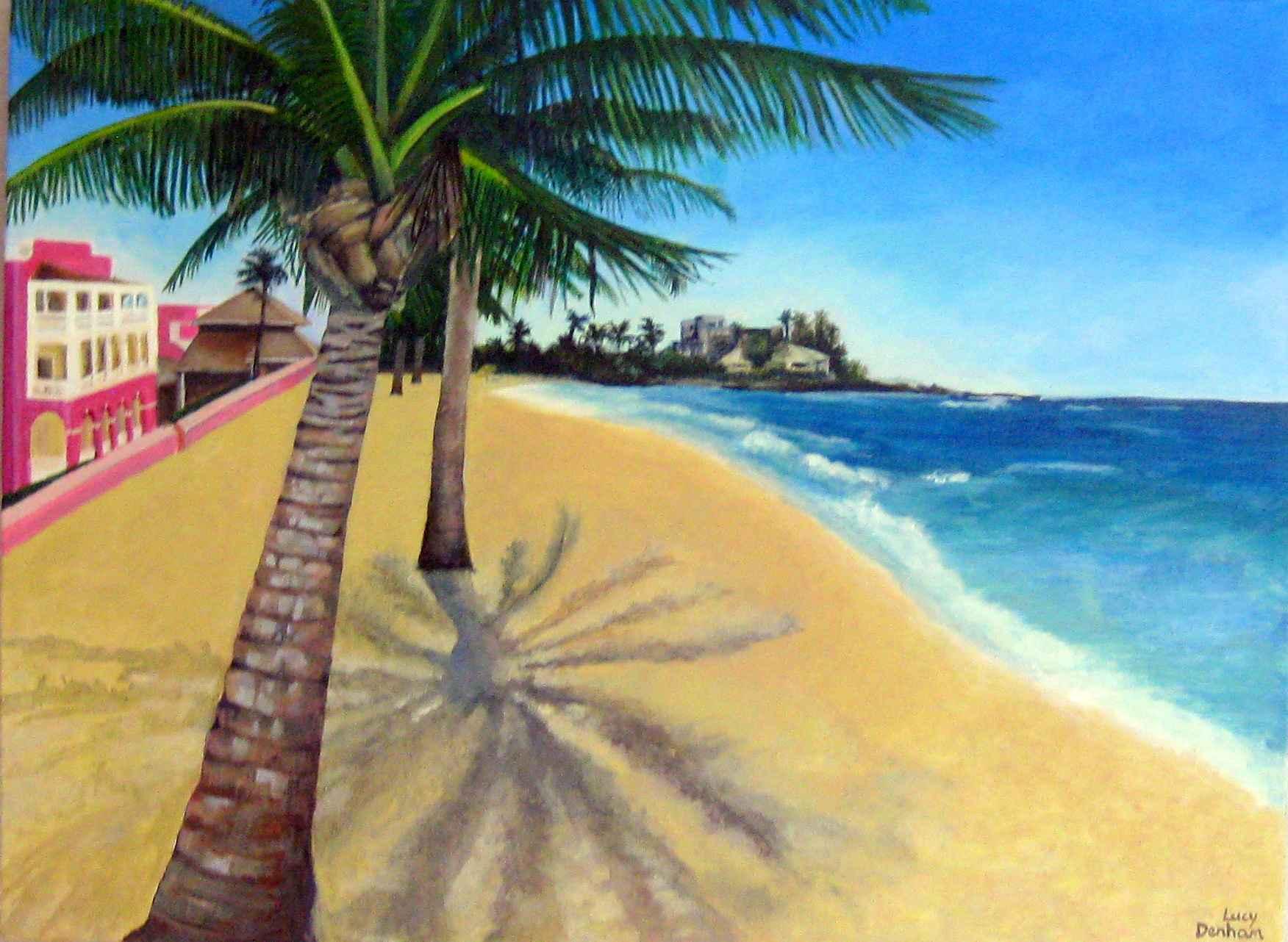 Paradise Palms by  Lucy Denham - Masterpiece Online