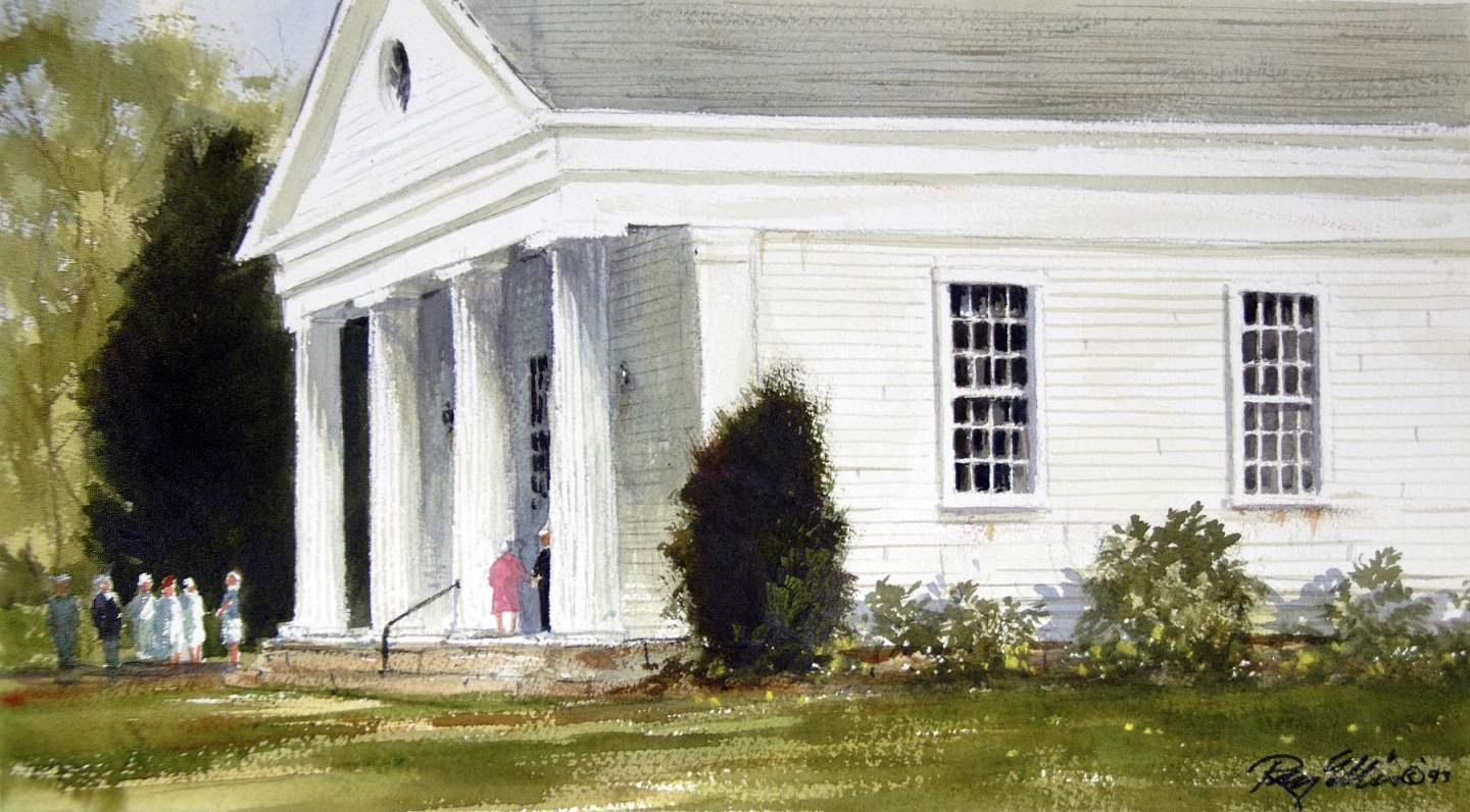 After Church - Chilma... by  Ray Ellis - Masterpiece Online