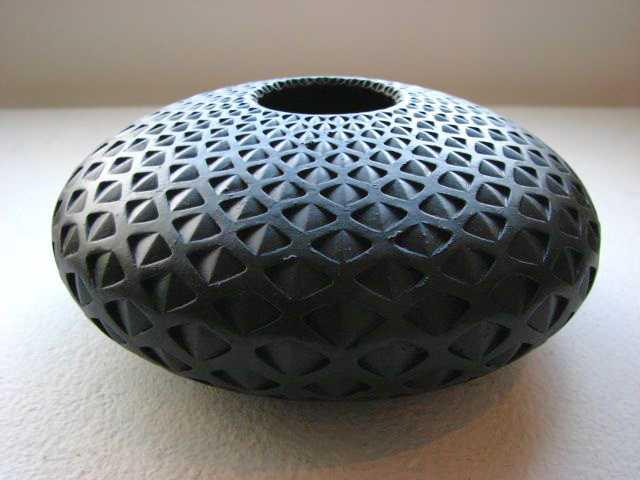 Medium Black Mandala by  Michael Wisner - Masterpiece Online