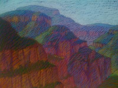 Salt River Canyon by  Melissa Hefferlin - Masterpiece Online