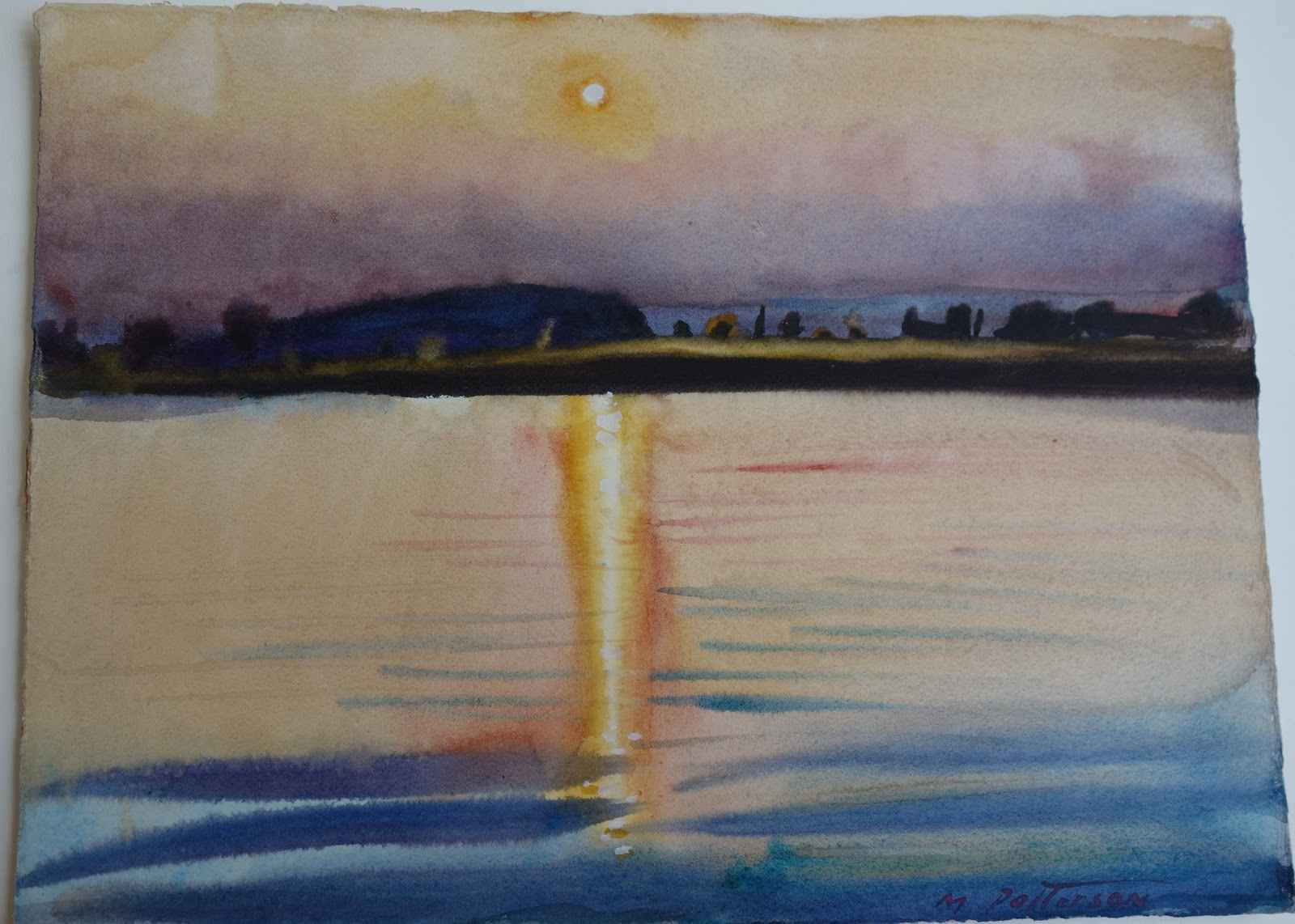 Pond in Montauk by  Michael Patterson - Masterpiece Online