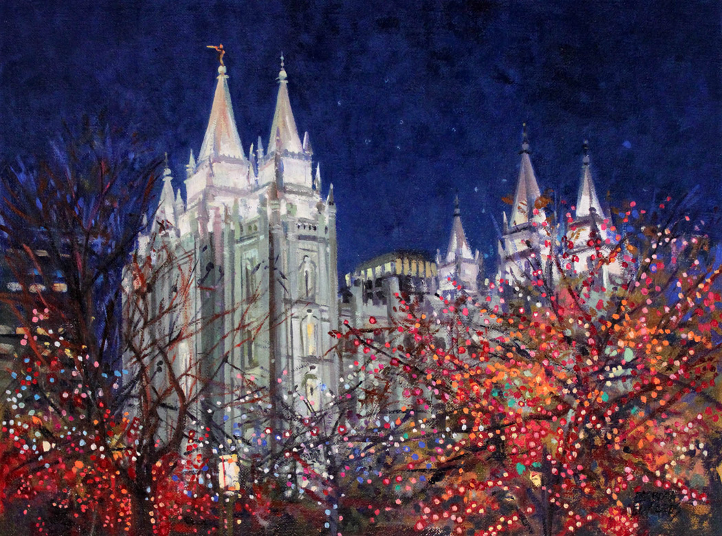 Orchestra Of Lights by  Barbara Summers Edwards - Masterpiece Online