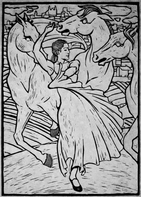 The Horses Fought Jea... by  Melissa Hefferlin - Masterpiece Online