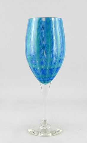 Goblet/Turquoise & Bl... by  Nathan Sheafor - Masterpiece Online