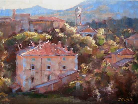 Tuscan Village by Mrs Judy Gelfert - Masterpiece Online