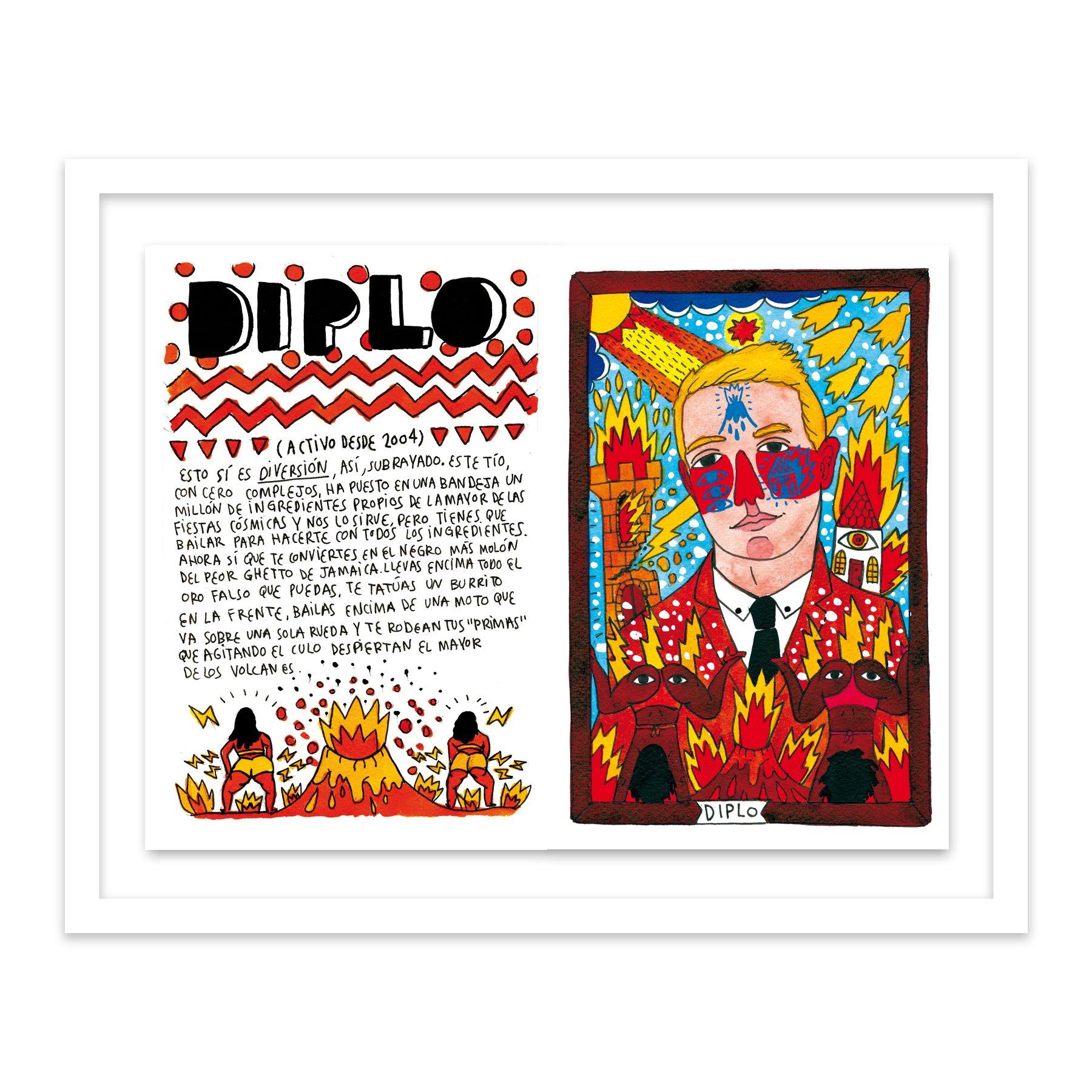 101 Diplo by  Ricardo Cavolo - Masterpiece Online