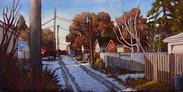 The Old Garage by  Kari Duke - Masterpiece Online