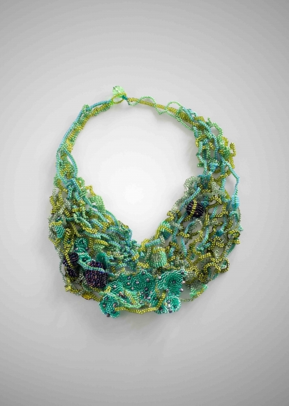 Green by  Joyce Scott - Masterpiece Online