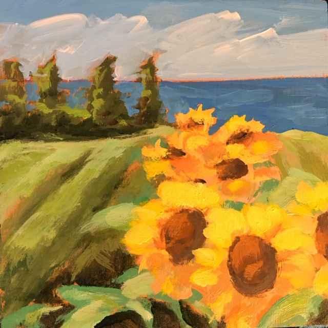 Sunflowers MV by  Kate Winn - Masterpiece Online