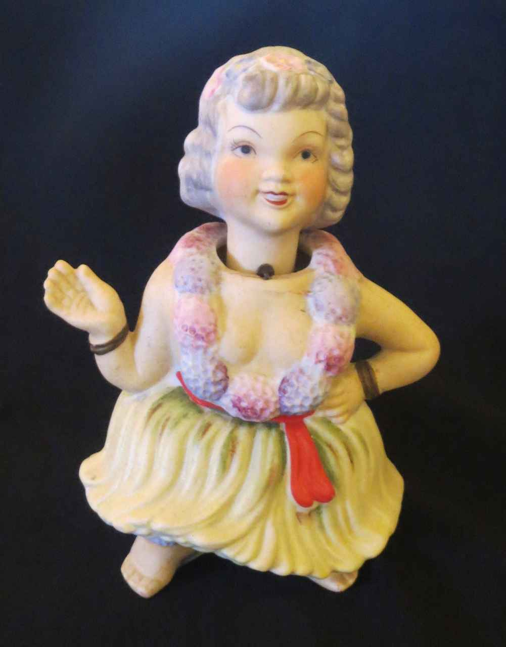 Hawaiian Nodder Doll by   Unknown - Masterpiece Online