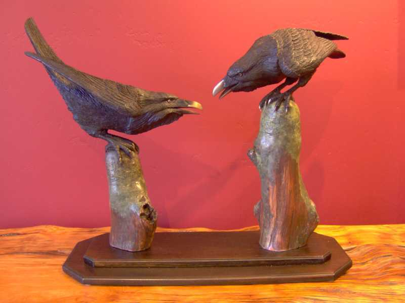 Two Ravens by  Peter Berryman - Masterpiece Online