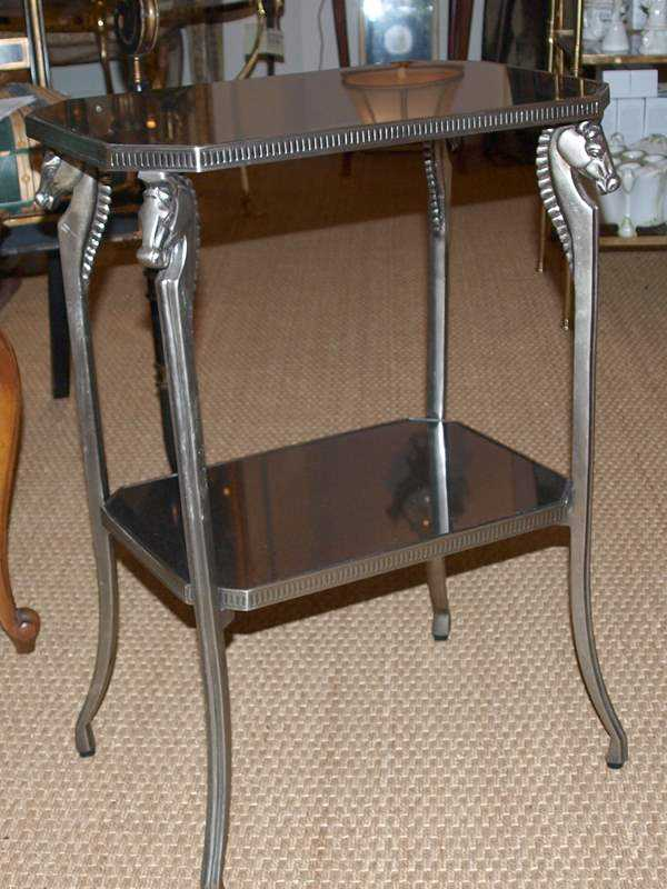 Two Tier Accent Table by  None None - Masterpiece Online