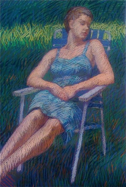 Backyard Reverie by  Melissa Hefferlin - Masterpiece Online