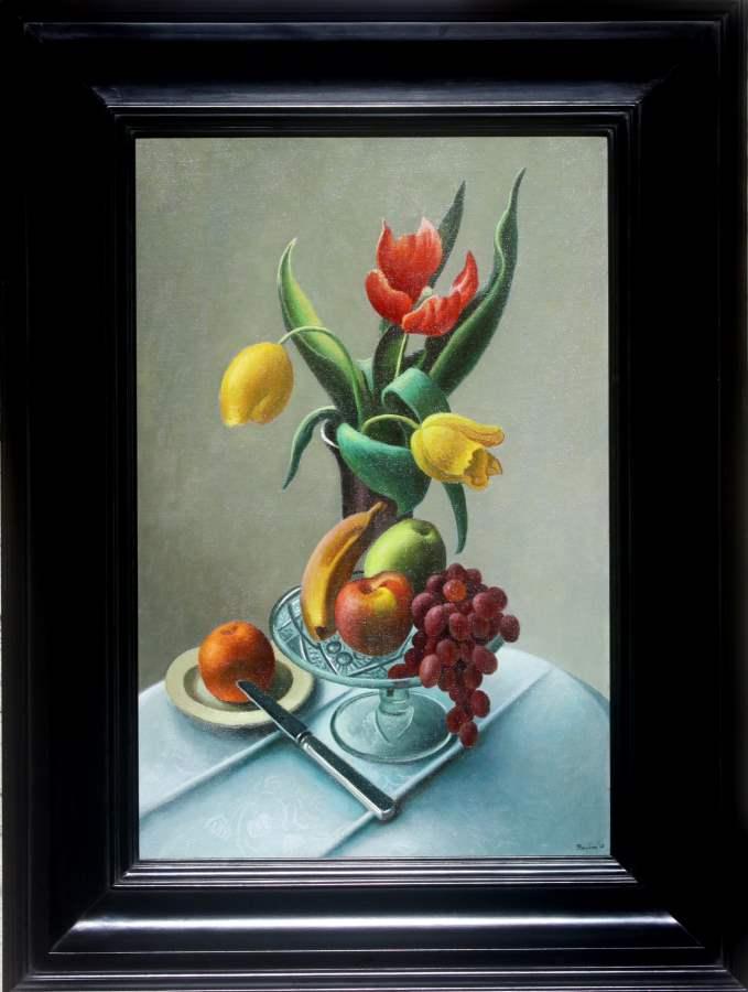 Still Life, 1962 by  Thomas Hart Benton - Masterpiece Online