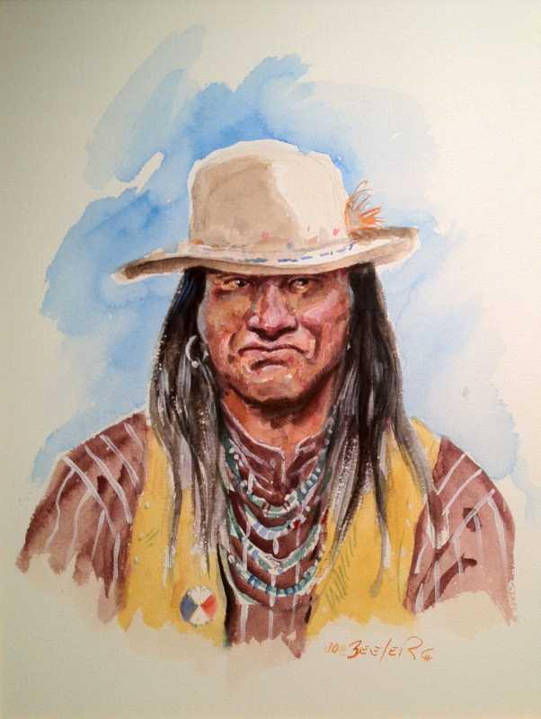 Apache Renegade by Mr. Joe Beeler - Masterpiece Online
