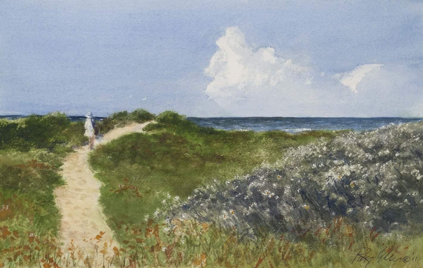 To the Beach - Cedar ... by  Ray Ellis - Masterpiece Online