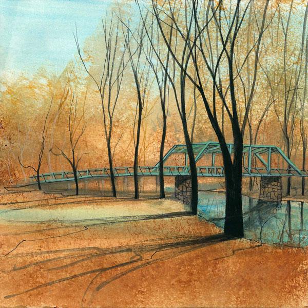 DP-Waterloo Bridge by  P. Buckley Moss  - Masterpiece Online