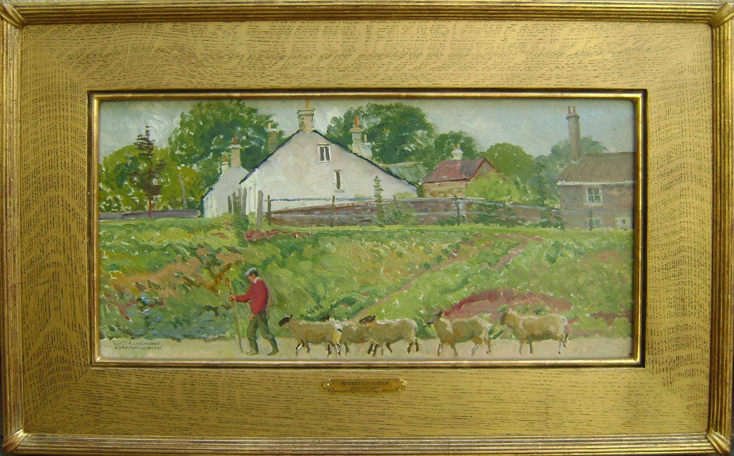 Bampton Sheep England by  Robert Lougheed - Masterpiece Online