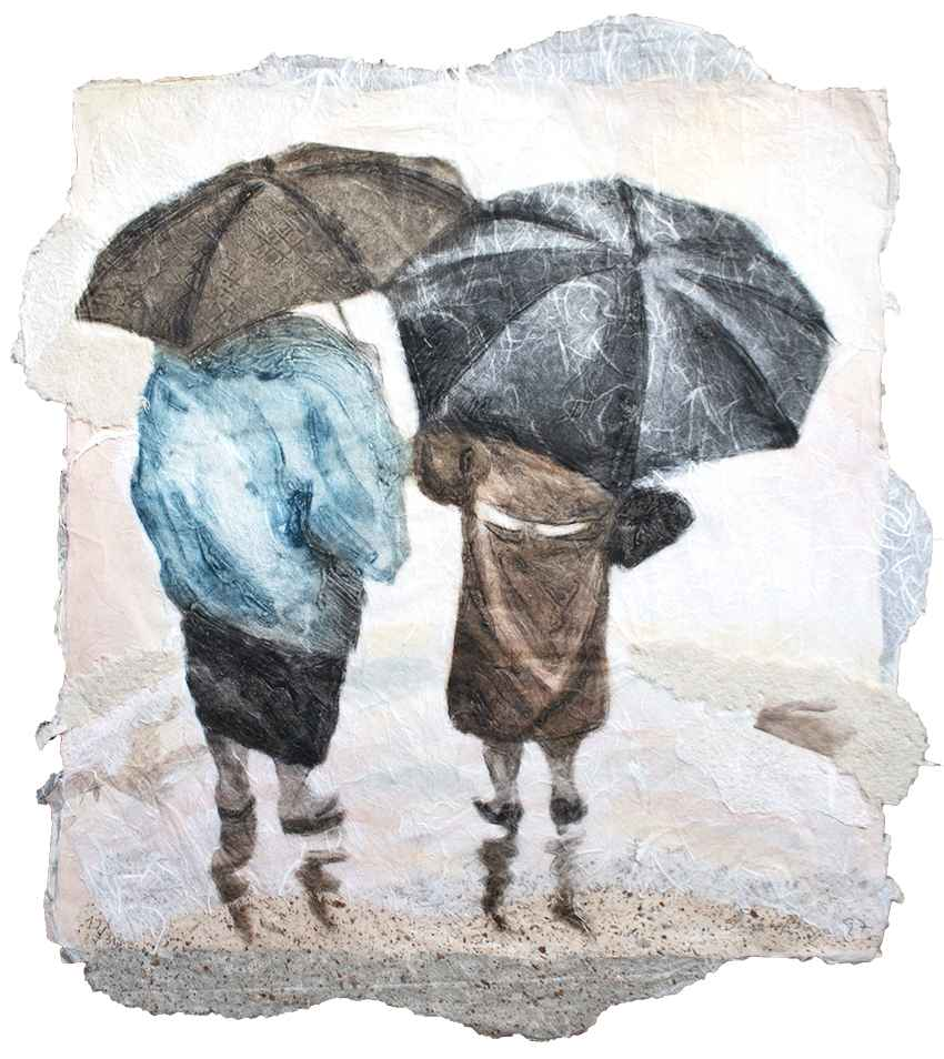 Umbrella Chat by  Sarah Brayer - Masterpiece Online