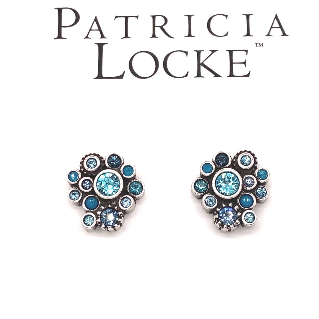 Pebbles Earrings in Silver, Bermuda