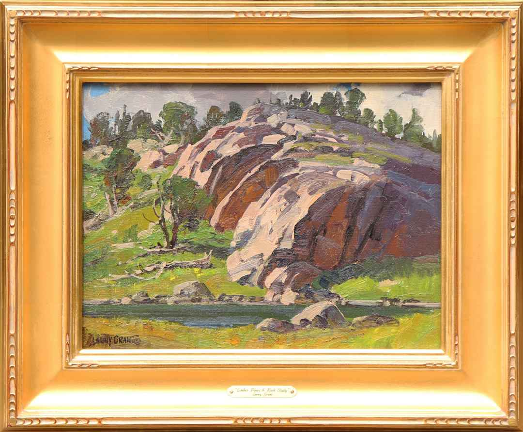 Limber Pines & Rock S... by  Lanny Grant - Masterpiece Online