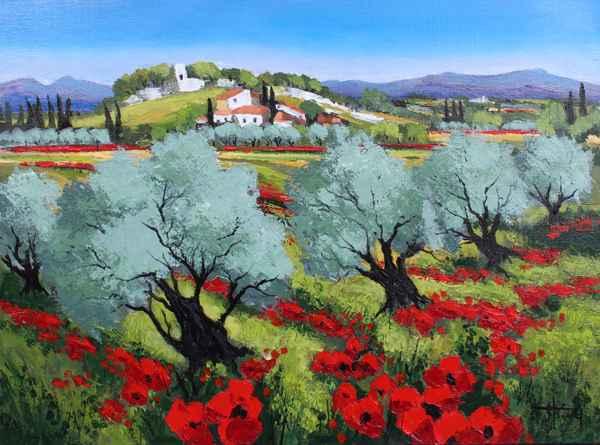 Village en Fleurs by   Triolet  - Masterpiece Online