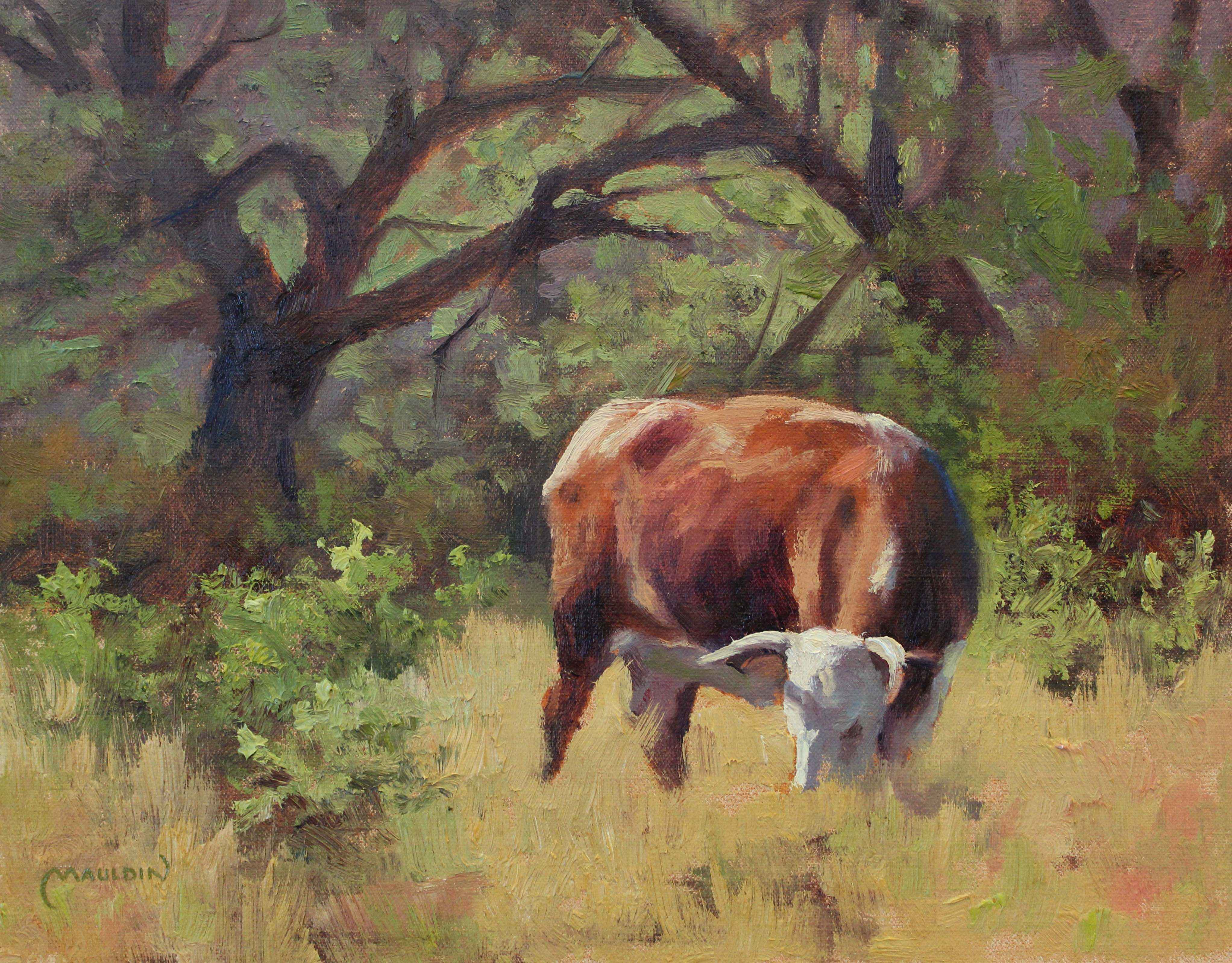 Hereford Harry by  Chuck Mauldin - Masterpiece Online