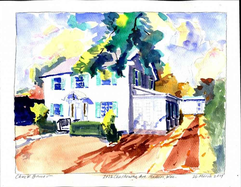 2122 Chadbourne St., ... by  Chuck Bauer - Masterpiece Online