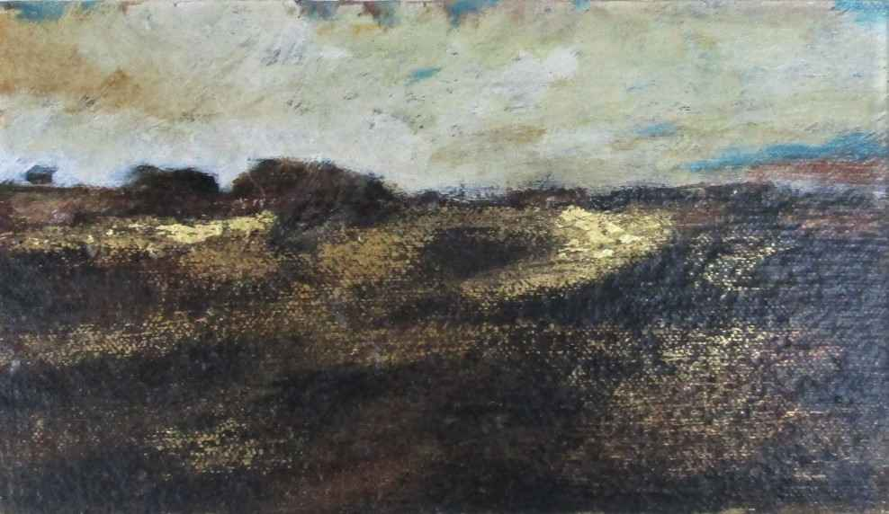 Untitled (Gilded Land... by  Kay French - Masterpiece Online