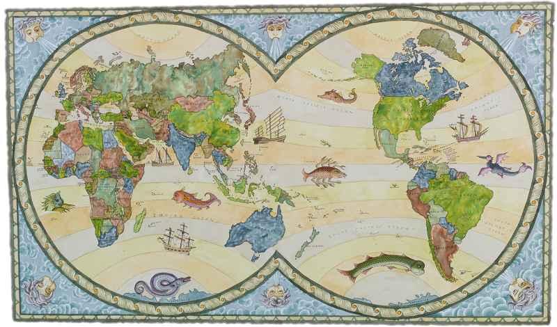 World Map by  Preston McAdoo - Masterpiece Online