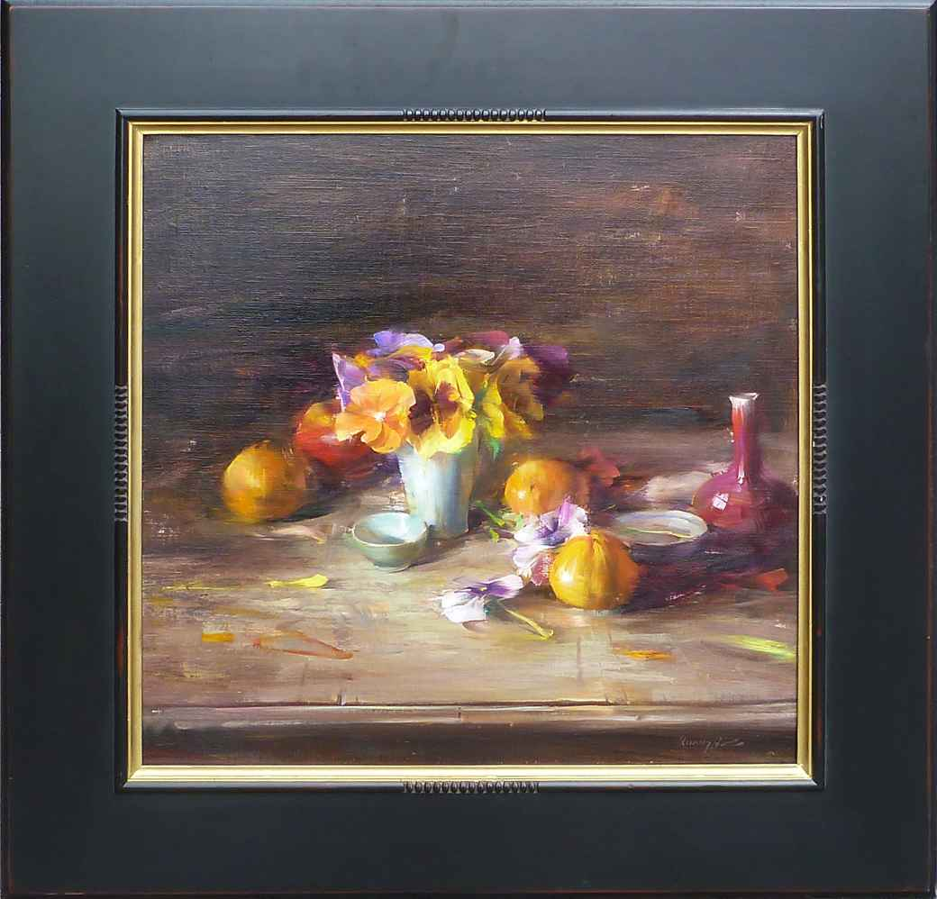 Pansies and Tangerines by Mr. Quang Ho - Masterpiece Online